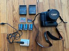 Canon EOS Digital Camera 20D With Grip Lens 3x Batteries 2x SD Cards