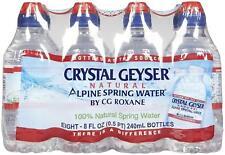 Crystal Geyser Bottled Water w/ Sport top Kid Pack - 8 oz - 32 ct