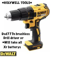 DeWALT DCD777N  18v Li-Ion XR Brushless 2 speed DRILL DRIVER  Body Only NEW