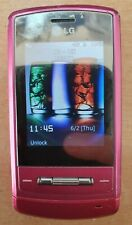PINK LG KE970 SHINE CHEAP MOBILE PHONE - UNLOCKED WITH NEW CHARGAR AND WARRANTY