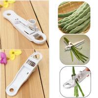 French Runner Green Bean Slicer Cutter Bean Stringer Remover Peeler Shredder KK