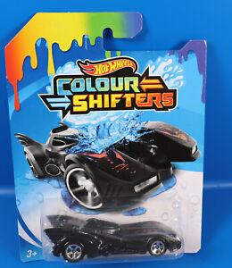 Mattel Hot Wheels Colour Shifters Car  GBF30 Batmobile / Farbwechselauto