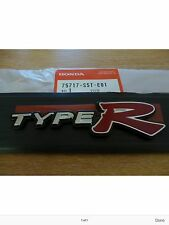 GENUINE HONDA CIVIC TYPE R TAILGATE BADGE EMBLEM 2001-2005
