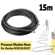15M High Pressure Washer Hose Trigger 40MPa Click Water For Karcher K2 K3 K4/5/7