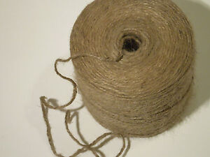 10m-100m Metre Natural Brown Rustic Style Twine String Craft Jute Shabby Cord