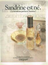 J- Publicité Advertising 1970 Eau de Toilette Espace Dedicace Sandrine Cheramy