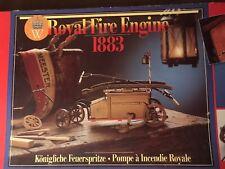 Vintage Authentic Models Holland 1883 Royal Fire Engine Model New Kit L@K