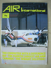 AIR INTERNATIONAL MAGAZINE DECEMBER 1983 CASA NURTANIO CN-235