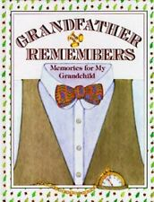 Grandfather Remembers Memories for My Grandchild - Lifetime Legacy Book - New