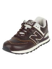 Scarpe da ginnastica da uomo New Balance marrone con stringhe