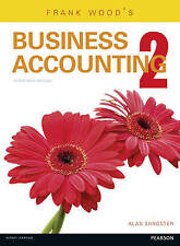 Frank Wood's Business Accounting: Volume 2 (13th) by Alan Sangster 9781292085050