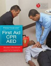 Heartsaver First Aid CPR AED American Heart Association Paperback Used - Good