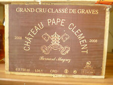 Chateau Pape Clement 2008 Grand Cru (6 Bottles OHK)
