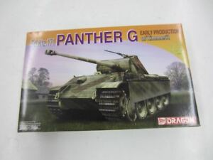 Dragon 7265 Sd.Kfz.171 PANTHER G w/Zimmerit 1:72 Scale Plastic Model Kit