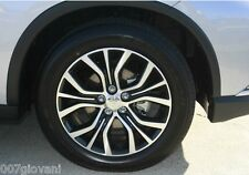 2X 2017 Mitsubishi OUTLANDER ASX Alloy Wheels GENUINE CLEAN 225 55 18 WHEELS
