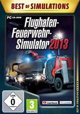 Flughafen-Feuerwehr-Simulator 2013  (Best of Simulations) PC !!!!! NEU+OVP !!!!!