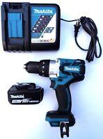 Makita 18V XPH07 Brushless 1/2 Hammer Drill, (1) BL1830 Battery, Charger 18 Volt