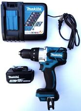 Makita 18V XPH07 Brushless 1/2 Hammer Drill, (1) BL1830 Battery, Charger 18 Volt