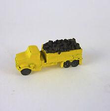 Dollhouse Miniature Artisan YELLOW Toy Truck w/ Coal, 2967