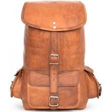 New Genuine Vintage Leather Macbook BackPack Rucksack Travel Bag Sholder travel