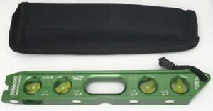 Checkpoint torpedo level green Ultra mag optional pouch Earth magnets