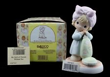 Precious Moments Figurine My Life Is A Vacuum Without You 587907 1999