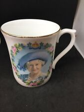 Queen Mother 100th Birthday Cup Collectible Fine Bone China