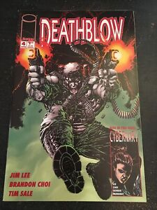 Deathblow#4 Incredible Condition 9.4(1994) Jim Lee Story And Cover