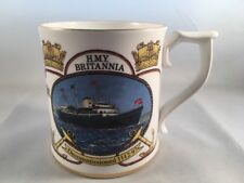 Sutherland Bone China Ltd Edition Cup Decommissioning of HMY Britannia 1997