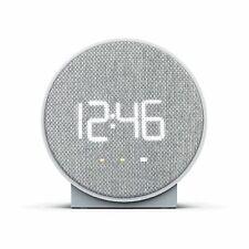 Capello Round Time Table Digital Clock - Gray