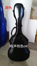 """high quality glass fiber guitar case, 39"""" or 41"""" black guitar case"""