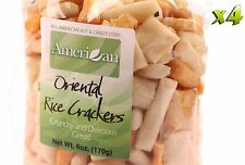 24oz Gourmet Style Bags of Oriental Rice Crackers [1 1/2 lb.]