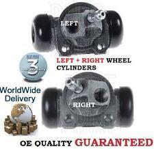FOR SUBARU JUSTY 1.3i 1996-2004 NEW  LEFT & RIGHT REAR BRAKE WHEEL CYLINDER SET