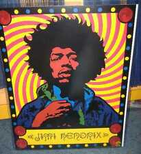 "Jimi Hendrix: Classic Psychedelic Poster - Officially Lin, Item - 16""X20""- NM"