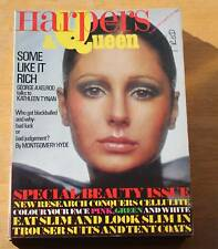 Harpers & Queen 1971 Early Mid October  - Beauty Issue