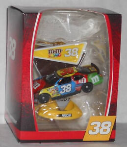2007 DAVID GILLILAND #38 M&M RACING DATED LIMITED EDITION COLLECTIBLE ORNAMENT