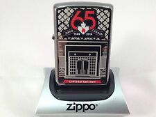 ZIPPO CANADA 65TH ANNIVERSARY ZIPPO LIGHTER LIMITED EDITION only 5,000 made