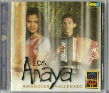 Los Anaya Amanecer Vallenato Latin Music CD New