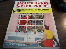 VINTAGE - POPULAR SCIENCE  MAGAZINE - SERT 1954 - HOME - IDEA SUPPLEMENT