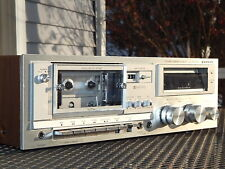 Sanyo Rd-5340 Cassette Stereo Tape Deck Recorder - Pro Tech Serviced/Video Demo