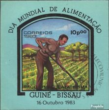 Guinea-Bissau block256 (complete issue) used 1983 World Food Da