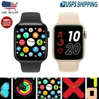 Smart Watch Bluetooth Waterproof For iPhone iOS Android Phone Fitness Tracker US