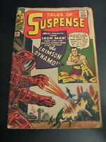 TALES OF SUSPENSE #46 (8th App. of Iron Man!) Fun Book! Cool Retro Look! G/VG