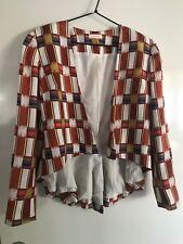 Sass and Bide Peplum Jacket Size Euro 42/Aus 12