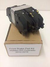 """Genuine Holden RG Colorado Front Caliper """"Brake Pad Kit"""" 2012-2018"""