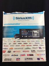Sirius Xm Satellite Radio Commander Touch Vehicle Radio - Model: Sxvct1