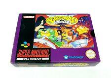 Super Nintendo Battletoads in Battlemaniacs Complete [PAL] SNES