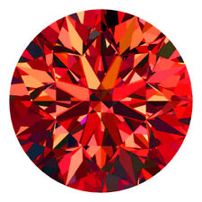 1.4 MM CERTIFIED Round Fancy Red Color VS Loose Natural Diamond Wholesale Lot