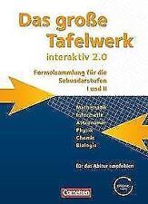 Das große Tafelwerk interaktiv 2.0. Schülerbuch. von Andreas Gramm, Karlheinz Martin, Hubert König, Lothar Meyer und Wolfgang Kricke (2011, Gebundene Ausgabe)