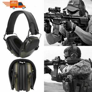 Electronic Shooting Earmuff Anti-noise Headphone Sound Amplification Hearing Pro